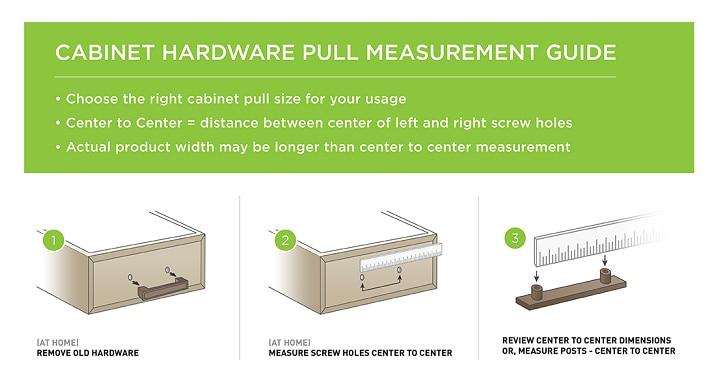 Cabinet Pull Measurement Guide