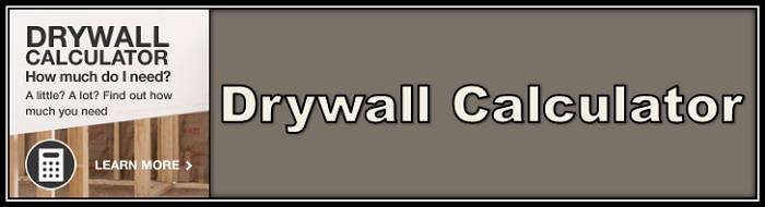 Drywall calculator button
