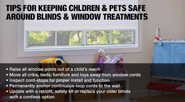 Keeping Children and Pets Safe around Blinds